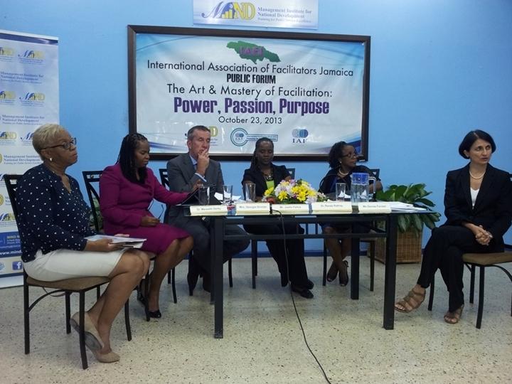 IAFJ's Public Forum during Facilitation Week 2013