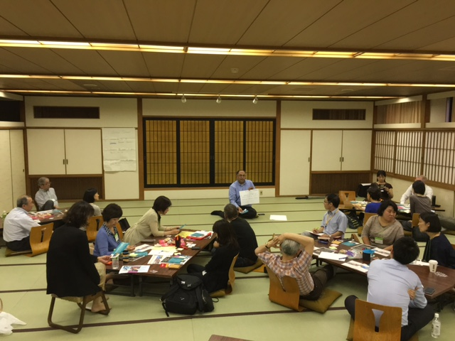 An IAF Japan Facilitator's Evening with visiting presenter Vinay Kumar