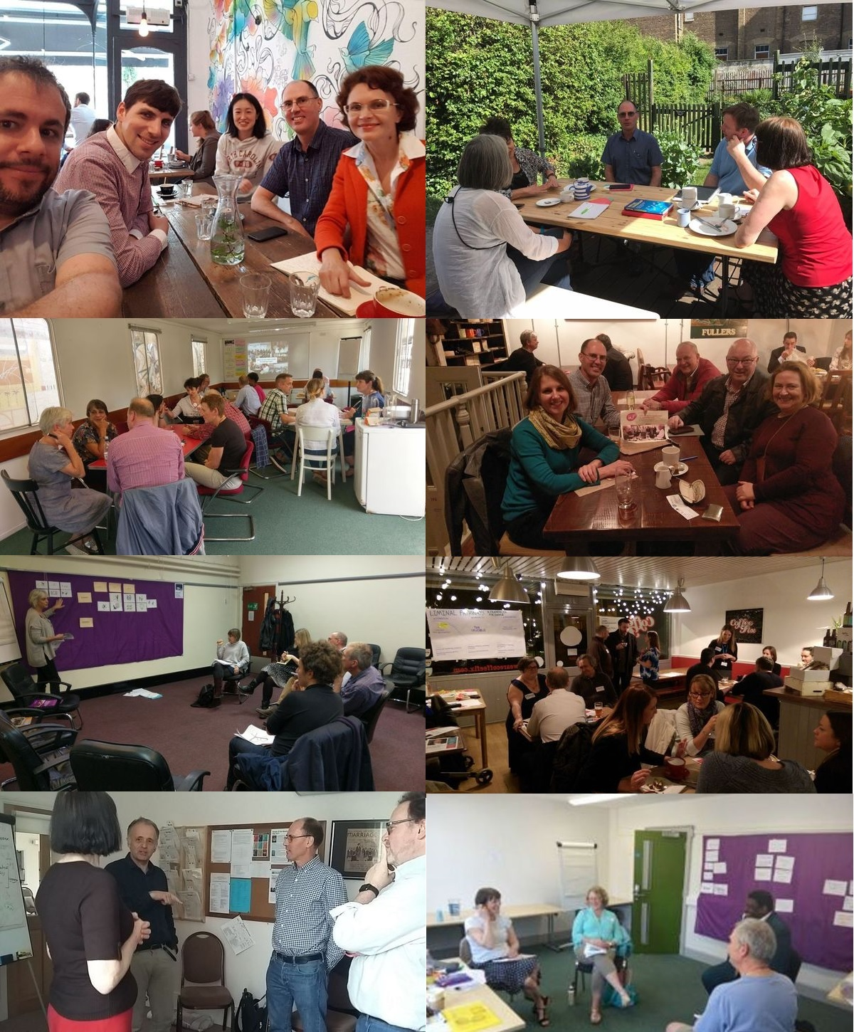 IAF E&W facilitators & friends montage
