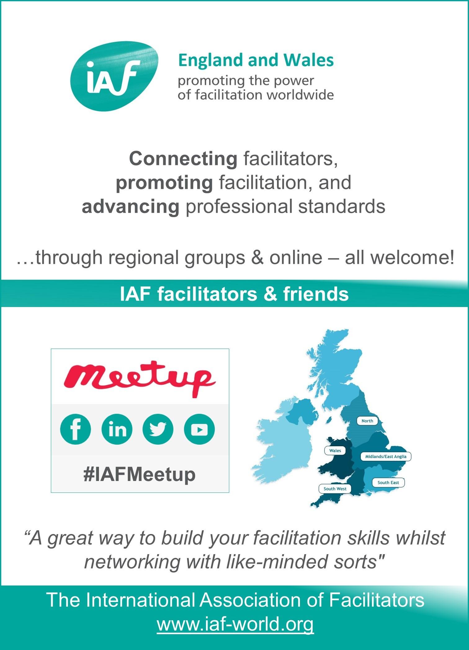 IAF England & Wales meetups
