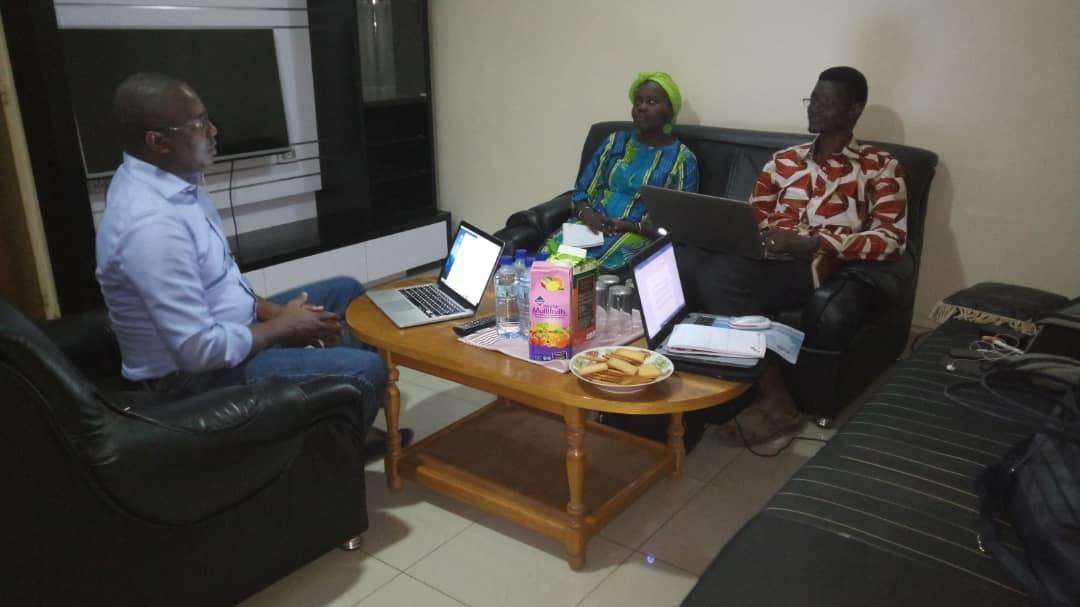 Première réunion officielle de IAF au Burkina Faso