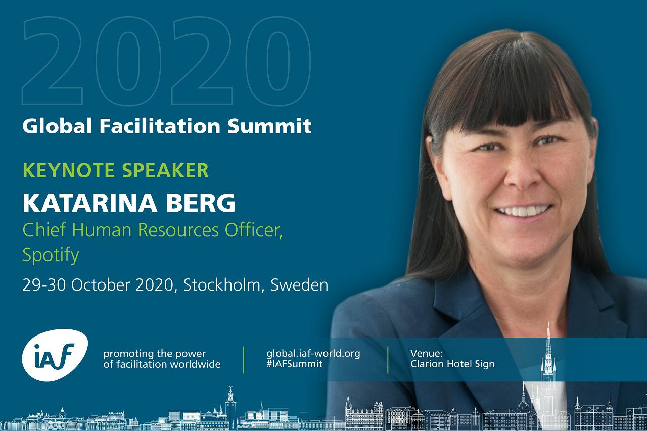 Katarina Berg, IAF Summit Keynote Speaker