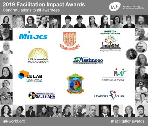 2019 Facilitation Impact Award winners